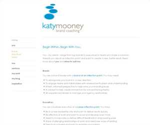 Screenshot of katymooney.com